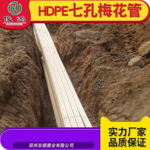 驻马店HDPE气孔梅花管